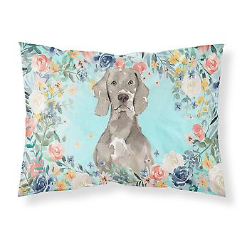 Carolines Treasures CK3406PILLOWCASE Weimaraner Fabric Standard Pillowcase