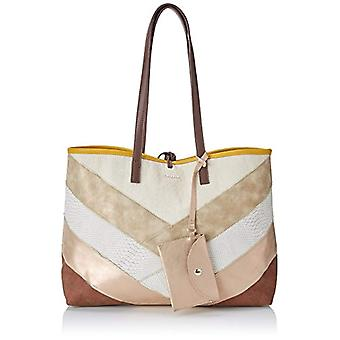 Desigual Bols_tantra Seattle Woman Brown Shoulder Bags (Marron Tierra) 13x29.5x38 cm (B x H x T)