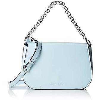 Calvin Klein gekleed up Satchel-blauwe vrouwen schoudertassen (bleke blauw) 8x20x28 cm (B x H T)