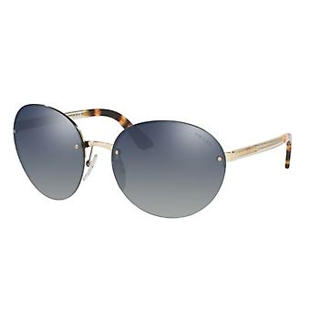 Prada SPR68V Golden Grey Blue Miroité