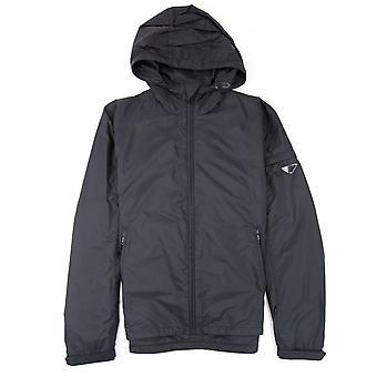 Prada Giubbotto nylon Piuma windbreaker Jacket Nero