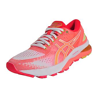 Asics Gel Nimbus 21 New 2019 Sun Coral / White