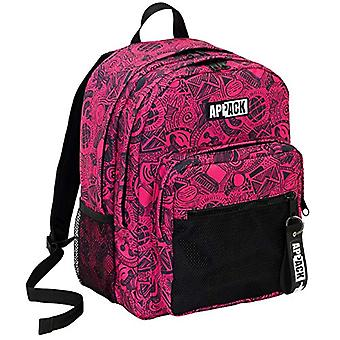 Backpack Double Compartment Appack I Like - 34 Lt - Pink - School & Leisure