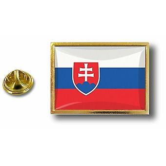 Kiefer Pines Abzeichen Pin-Apos;s Metall mit Schmetterling Pinch Flagge Slowakei Slowakisch