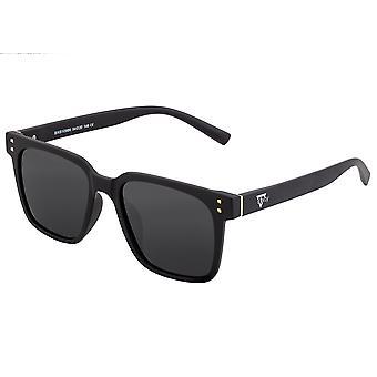 Sixty One Capri Polarized Sunglasses - Black/Black