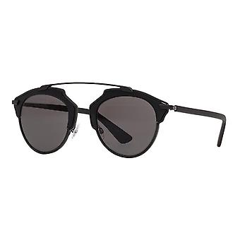 Dior So Real RLS/LY Matte Black/Dark Grey Sunglasses
