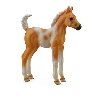 CollectA pinto Foal Standing-Palomino