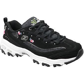 أزهار مشرقة D'Lites سكيتشرز 11977-بلوك المرأة أحذية رياضية