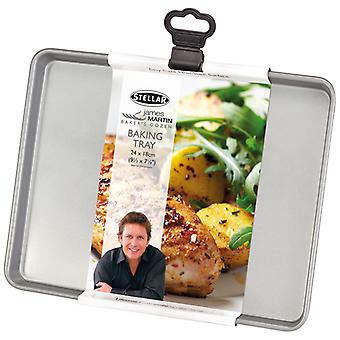 Stellar James Martin Bakers Dozen Baking Tray, 24 X 18 X 1.5cm, (9� X 7 X �inch)