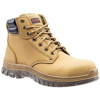 Centek Mens FS339 S3 Lace Up Safety Boot Honey