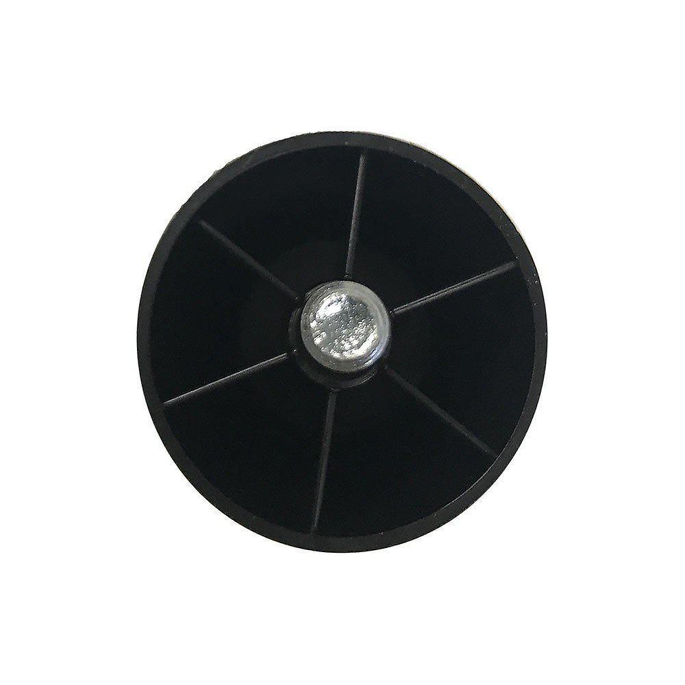 Jambe de meubles ronds en plastique 6 cm (M8) (4 pièces)