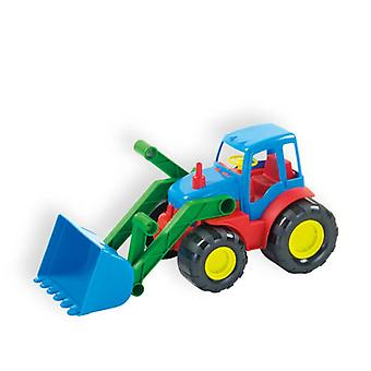 Mochtoys Toy Tractor 10027, Bulldozer with shovel 34 x 16 cm