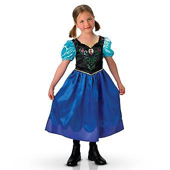 Disney congelado viaje clásico Anna traje pequeño (3-4 años)