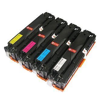 CE320 128A Series Generic Toner Set