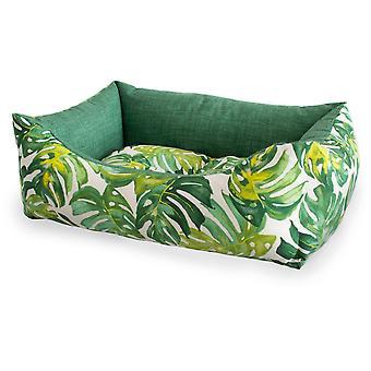 Ferribiella 3 Rect.Tropical Dogbeds 60-70-80Cm Green (Katzen , Erholung , Betten)