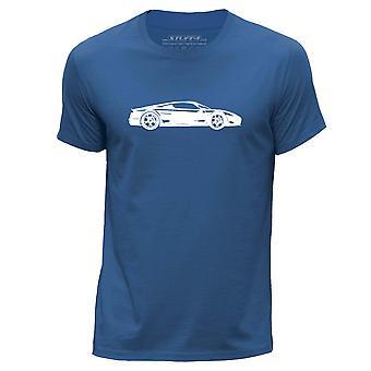 STUFF4 גברים ' s צוואר עגול חולצת טריקו/שבלונה לאמנות רכב/M600/רויאל בלו