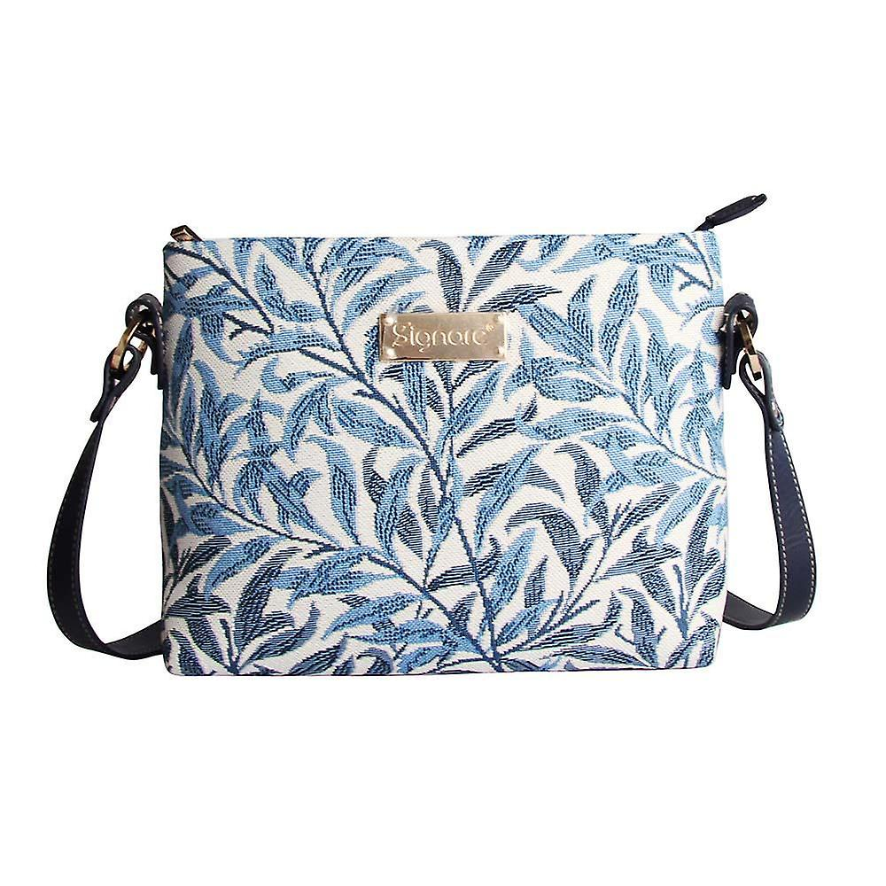 William morris - willow bough crossbody bag by signare tapestry / xb02-wiow