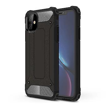 Stuff Certified® Samsung Galaxy A7 2018 A750 - Armor Case Cover Cas TPU Case Silver