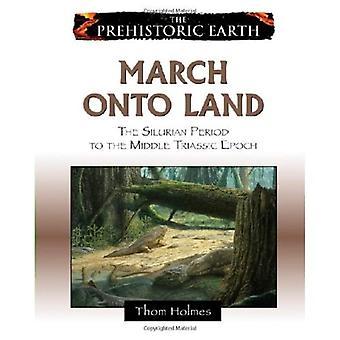 Mars på Land: från Silur till mellersta Trias perioden (förhistoriska jord)
