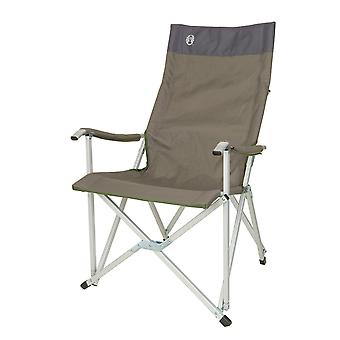 Lightweight Sling Chair with Carry Bag - 58 x 61 x 94 cm / Green / Khaki -