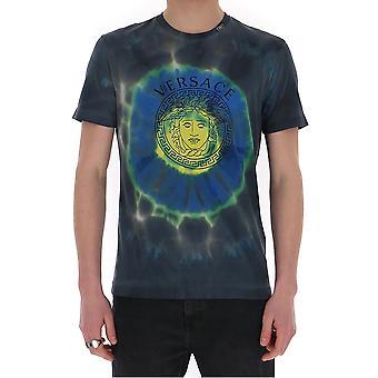 Versace A85251a228806a7519 Men's Multicolor Cotton T-shirt