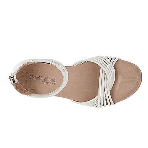 Adam Tucker Serene Women's Sandal 8.5 B(M) US White