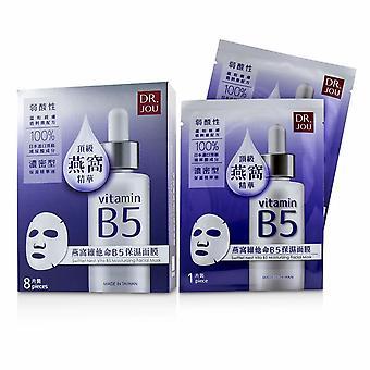 Swiftlet nest vita b5 moisturizing facial mask 8pcs
