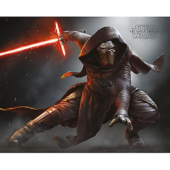 Star Wars Kylo Ren Crouch Mini Juliste