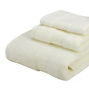3pc Bath towel set Towels bath towels and square towels