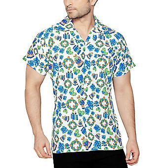 Club cubana men's regular fit classic short sleeve casual shirt ccx17