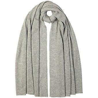 Johnstons of Elgin Cashmere Gauzy Stole - Silver