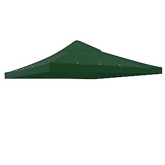 "Yescom 117""x117"" Canopy Top Replacement Y0049704 Green for Smaller 10'x10' Single-Tier Gazebo Cover Patio Garden Outdoor"