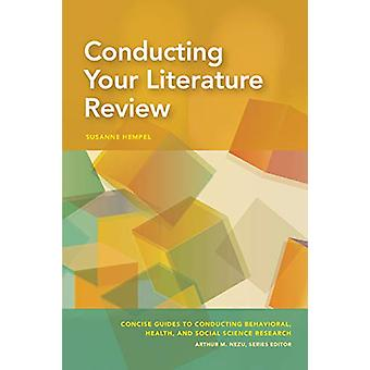Conducting Your Literature Review by Susanne Hempel - 9781433830921 B