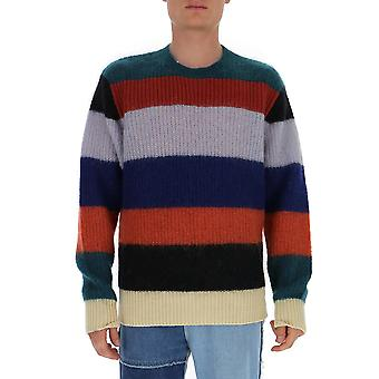 Marni Gcmg0124q0s17420v1x99 Men's Multicolor Wool Sweater