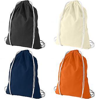 Bullet Oregon bomull Premium ryggsäck (förpackning med 2)