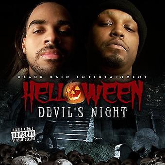 Forskellige kunstner - Helloween Devil's Night [CD] USA importerer