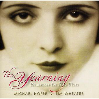 Hoppe, Michael & Wheater, Ti - The Yearning: Romances for Alto Flute [CD] USA import