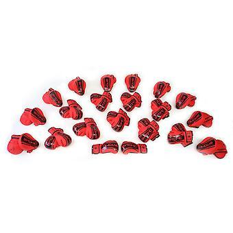 Eje bytomico V2 Focus Mitt y paquete de guantes de boxeo rojo/negro