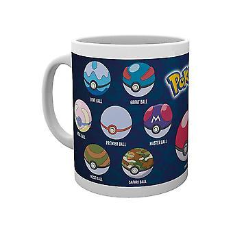 Pokémon, Mug - Pokéball Varieties