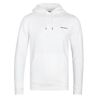 Norse Projects Vagn White Logo Hoodie