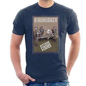 Action man hungover mænd ' s T-shirt