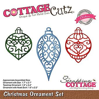 Scrapping Cottage Christmas Ornament Set (Elites) (CCE-508)