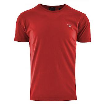 GANT Fiery Red Classic T Shirt