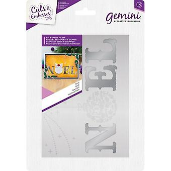 Gemini Noel Cut and Emboss Folder