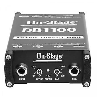 DB1100, Active Direct Box mit Stereo-to-Mono-Summing