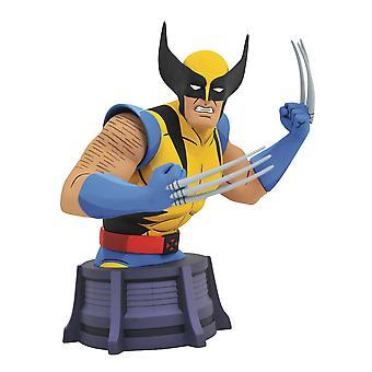 Diamond Select Toys Marvel Geanimeerde X-Men Wolverine Bust