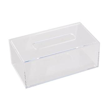 Acryl Tissue Box Paper Holder Organizer 226*126*84mm