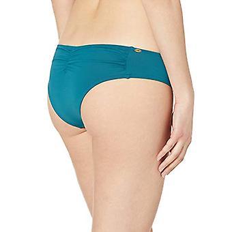 O'NEILL Women's Classic Hipster Bikini Swimsuit Bottom, Teal/Salt Water Solid...