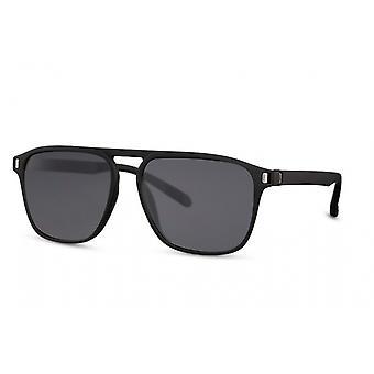 النظارات الشمسية الرجال بانتو كامل حافة كات. 3 أسود / أسود