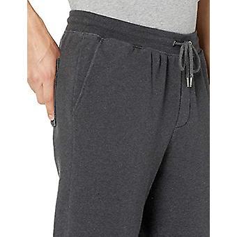 Goodthreads Men's Fleece Jogger Pant, Charcoal Heather Large